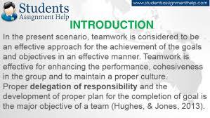 reflective essay on teamwork introduction 5