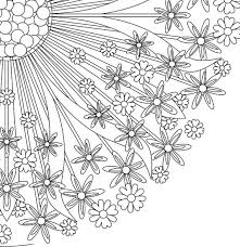 Small Picture Mandala Coloring Pages A4 Coloring Pages