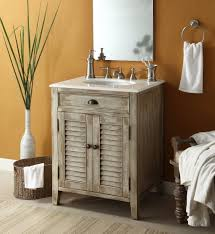 Rustic Bathroom Vanities And Sinks Bathroom Minimalist Rustic Bathroom Vanity With Vessel Sink