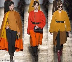 women s coats fall winter 2017 2018 fashion trends mustard and orange cape and