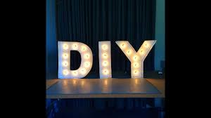 Custom Word Lights Diy Letter Lights