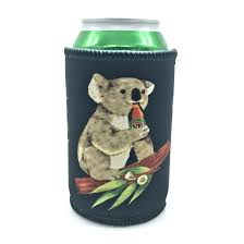 Koala Clothes Size Chart Koala Beers Black Stubby Holder