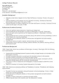 Professor Resume Mesmerizing Adjunct Professor Resume Example Resume Tutorial