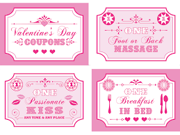 Microsoft Word Coupon Template Inspiration Free Printable Valentine's Coupon Book