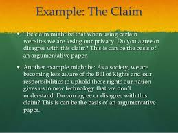 argumentative essay point and counter point 6 example the claim