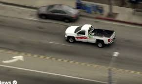 California: Police Pursue Possibly Stolen U-Haul Pickup on LA, Long ...