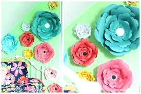 paper flowers wall decoration flower wall decor large paper flowers flower wall decorations paper flowers wall