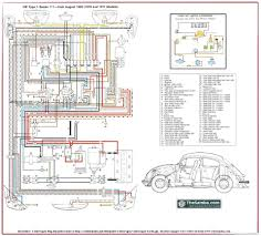 the entire wiring diagram for a 1970 vw beetle fits on one sheet vw wiring diagrams free downloads at Wiring Diagram For 1975 Vw Beetle