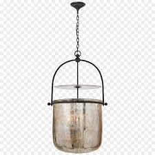 pendant light bell jar glass lantern light
