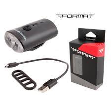 <b>Фара передняя</b> FORMAT, 2 Domestic <b>LED</b>, 220 mAh, 4 режима ...