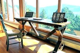 do it yourself office desk. Build A Office Desk Rustic Plans Log Chairs Deck Wood For Just Worth Of Decking And It Yourself Do Y