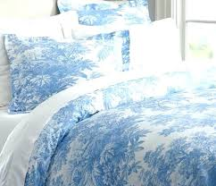 french blue toile bedding country