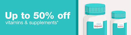 up to 50 off vitamins supplements