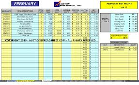 Excel Accounting Spreadsheet | Inzare : Inzare