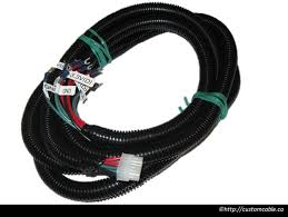 custom wiring harness customcable custom automotive wiring harness board to wire and terminal lug connectors