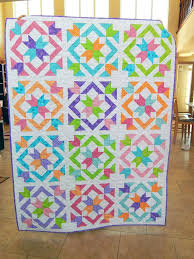 Be Colorful Quilts – co-nnect.me & ... Here My Quilt For The Star Light Star Bright Quilt A Long Hosted By  Melissa Of ... Adamdwight.com