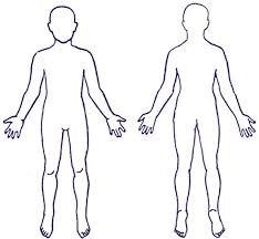 Free Human Outline Template Download Free Clip Art Free