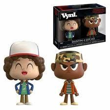 Funko VYNL Netflix Stranger Things Lucas & Dustin Vinyl Figures B8 for sale  online | eBay