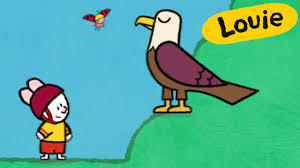 Small Picture Eagle Louie draw me an eagle Learn to draw cartoon for