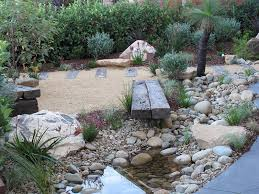 dry river bed native garden crows nest north s