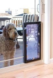 dog door in window free pet select slider patio doors glass install dog door
