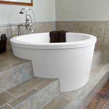 Japanese soaking Tubs for Small Bathrooms Awesome Caruso Acrylic Japanese soaking  Tub