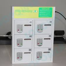 Phone Charging Vending Machine Cool Vending Machine Free Standing Money Making Locker Solar Panel For