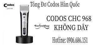 Tông Đơ Codos CHC 968 Cao Cấp Cho Tiệm - YouTube