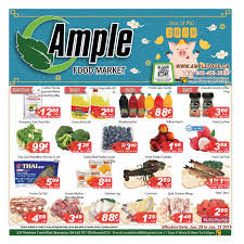 ample foods flyer ample food mart