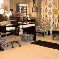 luxury makeup vanity. Complete The Bedroom Decoration With Vanity : Modern Luxury Makeup Design Black And White