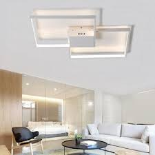 Flush Ceiling Lights Living Room Gorgeous Customer Reviews For Modern White LED Flush Mount Ceiling Light