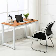 If you are looking for a desk for your office, this L-Shaped Desktop  Computer Desk might be a good choice for you. It's made of high quality MDF  and iron, ...