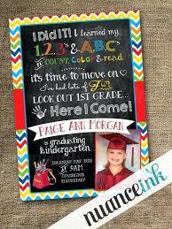 Preschool Graduation Announcements Pre School Graduation Invitation Free Announcements