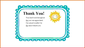 12 Thank You Note Samples Sponsorship Letter