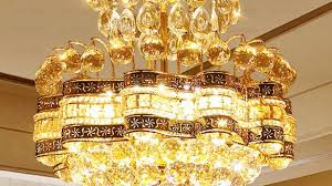 beautiful empire crystal chandelier at french e12 e14 base