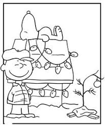 charlie brown christmas coloring page. Interesting Page Charlie Brown  Snoopy Christmas Coloring Pages On Page A