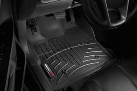 black weathertech floor mats. Weathertech Black Front Floor Liner On Mats