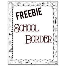 School Border Freebie