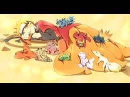 anime chibi naruto nine tails. Naruto And The Nine Tails Chibi Form Boys Family Anime