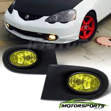2003 Rsx Fog Lights Details About W Harness Switch 2002 2003 2004 Acura Rsx Yellow Lens Bumper Fog Lights Pair