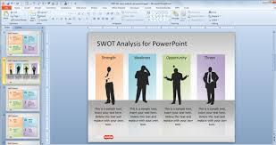 Swot Analysis Powerpoint Template Free Download The Highest