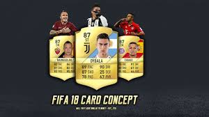 fifa 18 card concept by fut ted tutorial