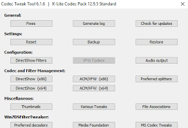 Includes the media player classic homecinema multimedia player. Download K Lite Codec Pack 64 32 Bit For Windows 10 Pc Free