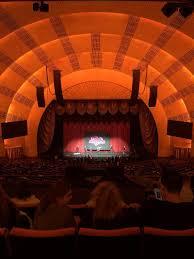 Radio City Music Hall Section 2nd Mezzanine 4 Row F Seat