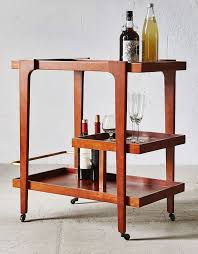 Don Draper would totally go for this mid-century modern bar cart, and maybe