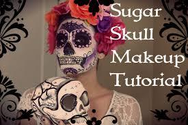 introduction sugar skull makeup tutorial