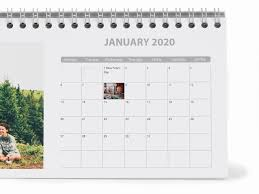 Plain Calendar 2020 Personalised Photo Calendars Diaries 2020 Gifts Photobox