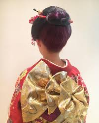 成人式での髪型はコレ女性らしさや黒髪に似合うアップスタイル17選