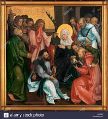 the dormition of the virgin reverse christ carrying the cross artist