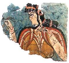 Древний мир Эпоха Древность История это что такое какие  Микенская женщина